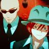randomtology: (spiffy hats (Reno & Rude))