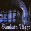 "belle_meri: Image of a catacomb captioned ""Samhain Night."" (Samhain Night)"