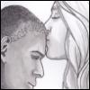 mekare: Supergirl: Kara giving J'onn a kiss on the forehead (Kara J'onn)