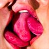 baiser: (i. tongues)