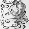 keshwyn: Keshwyn with the darkness swirling around her (panic)