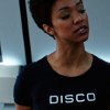 lizbee: (Star Trek: Michael (Disco shirt))