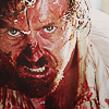 rydra_wong: Black Sails: James Flint with most of his face covered in blood. (black sails -- flint blood)