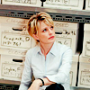 skieswideopen: Lily Rush sitting on the floor surrounded by white file boxes (Cold Case: Lily Rush)