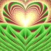 hummingwolf: A heart curve and a cosine curve fell in love. (Heart 3)