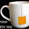 """darchildre: a cup of tea.  text: """"tea break"""" (tea break)"""