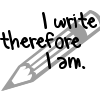 syderia: I write therefore I am (writing)