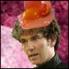 whatho: (Purple Tarrant with egg in his hair)