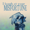 kyosuke: (I laugh at your misfortune)