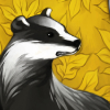 mchoule: the hufflepuff badger (Default)