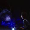 aurumcalendula: image of Michael and the tardigrade (making friends)