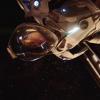 aurumcalendula: image of Michael in a space suit beginning a spacewalk (exploring)