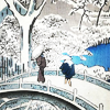 kaffyr: (Bridge in winter ukiyo-e)