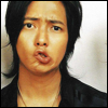 jona: Yamapi of NEWS making a 'um, what?' face (JE - Yamapi knutschig)