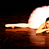 jadesfire: A ballerina in a tutu lying in the splits position (Ballerina in splits)