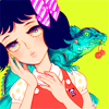 nude: ((a r t) iguana)