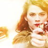 mandolin: (captain america - badass Peggy)