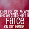 ladyfalcon: (Farce!)
