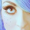 smellyleaf: blue haired girl (GIRL - blue)