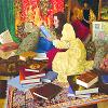 "gemspegasus: Art by James C. Christensen (art ""A Place of Her Own"")"