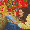 "gemspegasus: Art by James C. Christensen (Art ""Place of Her Own"" close up)"
