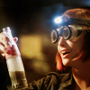 shameless2shoes: Claudia looking very mad scientisty (Geek Claudia (Warehouse 13))