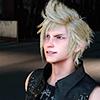 lokifan: Prompto smirking (Prompto: smirk)
