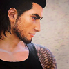 lokifan: Gladio & his tattooed shoulder <3 (Gladio: tattoo)