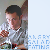 tomatocages: (angry salad eating)