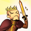 bruxisms: (king lineface charging into battle (ooc))