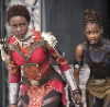 such_heights: nakia and shuri from black panther (mcu: nakia and shuri)