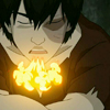 shameless2shoes: Zuko breathing fire in what looks like a sigh (Zuko: Sigh (AvatarTLA))