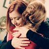 redcirce: Buffy/Willow from BtVS hug (buffy & willow hug)