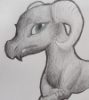 amazing_holly: A drawing of a lizard/dragon type thing. (Default)