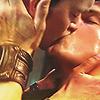 sumeria: Jack/Ianto kiss (Torchwood, Jack/Ianto)