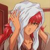 aija: (youko towel)