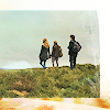 quietspring: Image: Harry, Hermione and Ron all walking over a hill, their backs turned to us. (hp trio by dess_xo)