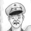 hangar_13: Cartoon of the Red Baron looking shocked (Manfred shocked)