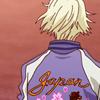 sponsorigami: icon of Ivan from behind in his jacket (絵 Karaoke de gozaru)