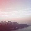 naye: the sky and mountains above lake geneva (mountain dawn)