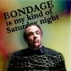 unicornjim: Bondage is my kind of Saturday night (Bondage, Crowley)