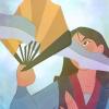 jjhunter: Disney's Mulan using a paper fan to defend against a sword (fictional fans)