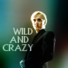"""shaddyr: Draco with text """"wild and crazy"""" (Wild and Crazy)"""