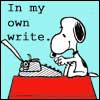 cjmarsicano: (Snoopy 'In my own write')