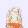 tequilarose: (* watermelon (honey and clover))