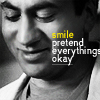 somersault: Smile; pretend everything's okay (House; Kutner)