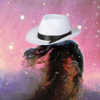 extrapenguin: Picture of the Horsehead Nebula, with the horse wearing a white hat. (Default)