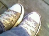 heather_bruyere: Picture of my favourite shoes (Skull Chucks)
