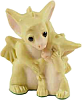 kshandra: Porcelain figurine of an dragon comforting a smaller dragon who is wiping tears from zir eyes (It'sOkayToCry)