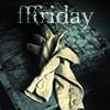 fffriday: A pair of white women's gloves (from Fingersmith) and the caption FFFridays (Gloves)